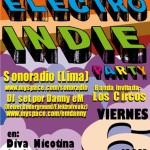 Electro Indie Party: Sonoradio (Lima) y Los Circos, en vivo