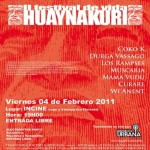 Estreno del Rockumental: II Festival de vida / Huaynakuri