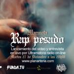 Lanzamiento online del video 'Rap Pesado' de Marmota