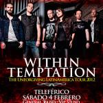Within Temptation en Ecuador