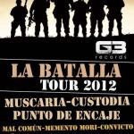 """CONCIERTO: Pesos Pesados """"La Batalla"""" Tour 2012"""