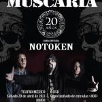 Muscaria celebra sus 20 años de carrera