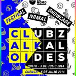 Showcase Festival NRMAL: CLUBZ y Alkaloides