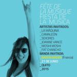 Fiesta de la Música Quito 2015