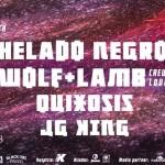 CONCIERTO: Helado Negro / Wolf + Lamb / Quixosis / Jg King